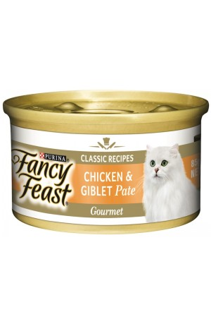 Fancy Feast Chicken And Giblet Pate 24 x 85g