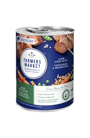 Farmers Market Lamb Vegetables And Rice 12 x 400g