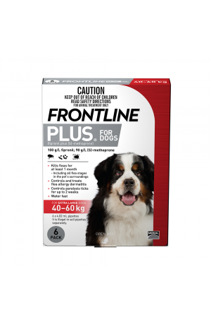Frontline Plus For Extra Large Dogs Red