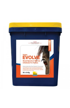 Kelato Evolve Horse Wormer Stable Pail (50 Wormers)