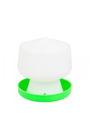 Green And White Chicken Waterer