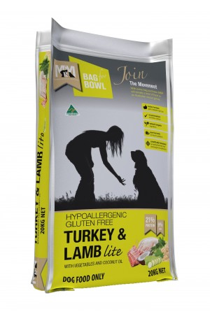 Meal For Mutts Lite Turkey Lamb 20kg