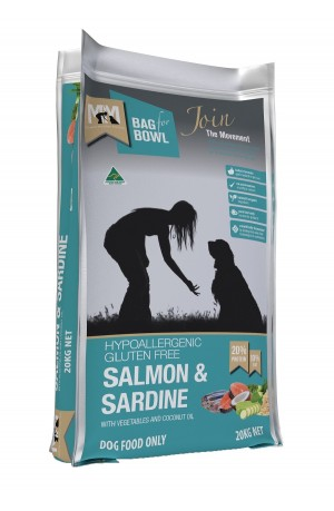 Meal For Mutts Salmon Sardine 20kg