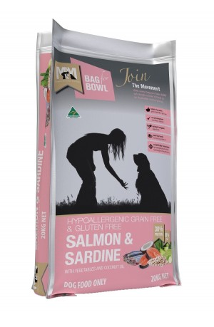 Meal For Mutts Grain Free Salmon Sardine 20kg
