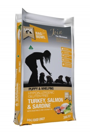 Meal For Mutts Puppy Salmon Sardine 20kg