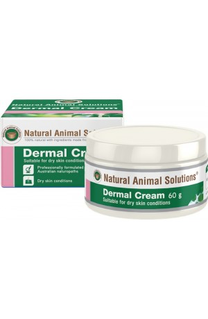 Natural Animal Solutions Dermal Cream For Dogs 60g