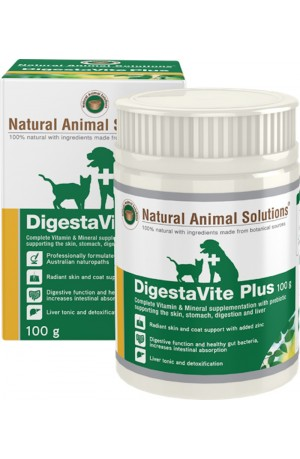 Natural Animal Solutions Digestavite Plus For Dogs And Cats 100g