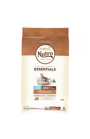 Nutro Wholesome Essentials Adult Large Breed Chicken And Rice