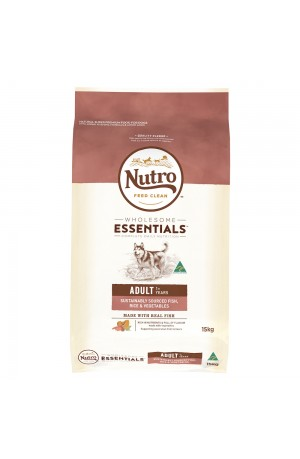Nutro Wholesome Essentials Fish And Rice Adult
