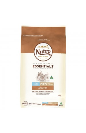 Nutro Wholesome Essentials Puppy Large Breed Chicken And Rice
