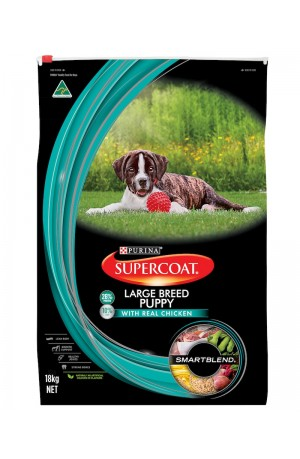 Supercoat Puppy Large Breed 18kgs
