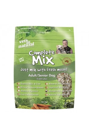 Vets All Natural Complete Mix Adult And Senior Dogs