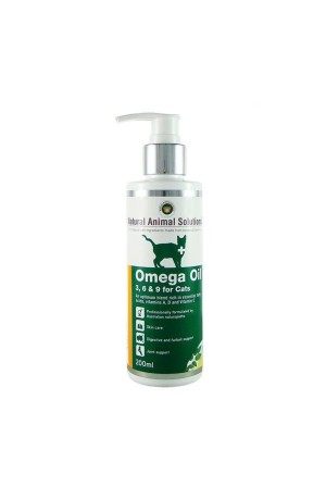 Natural Animal Solutions Omega 3 6 & 9 Oil For Cats 200Ml