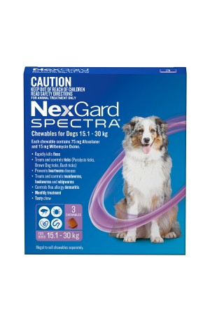 Nexgard Spectra For Large Dogs