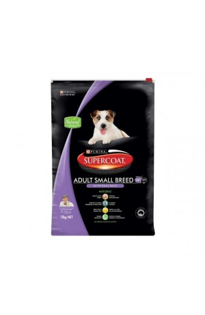 Supercoat Adult Small Breed Beef Dry Dog Food 12kg